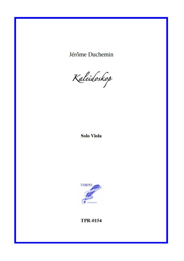 Kaleidoskop for Viola Solo (Duchemin)