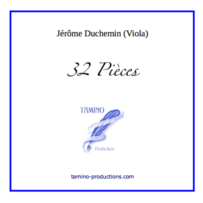 Duchemin: 32 Pieces for Viola Solo (MP3 Album)