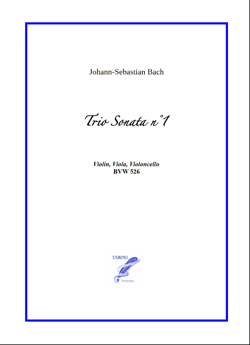 Sonata n°1 BWV 526 for String Trio (Bach)