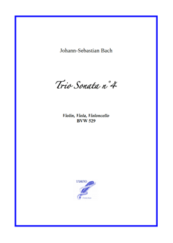 Sonata n°4 BWV 529 for String Trio (Bach)