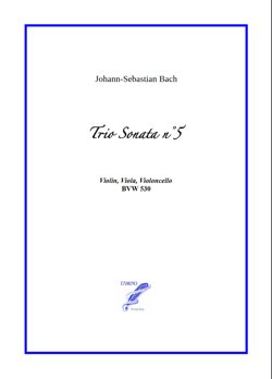 Sonata n°5 BWV 530 for String Trio (Bach)