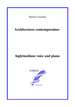 Architectures contemporaines (Loiseleur / Lequoy)