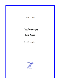 Liebestraum for Viola and Piano (Liszt)