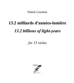 13.2 Billion of Light-Years for 13 Violas (Loiseleur)