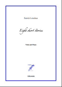 8 Short Stories for Viola and Piano (Loiseleur)