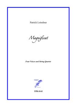 Magnificat for Choir and String Quartet (Loiseleur)