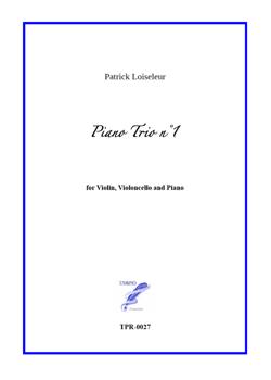 Piano trio n°1 (Loiseleur)