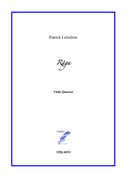 Râga for Viola Quartet (Loiseleur)