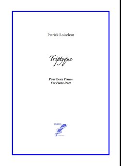 Triptyque for Two Pianos (Loiseleur)