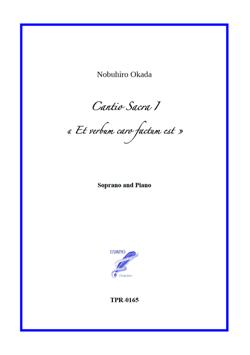 Cantio Sacra I for Soprano and Piano (Okada)